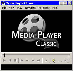 Media Player Classic main window